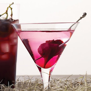 Bleeding Heart Martini.