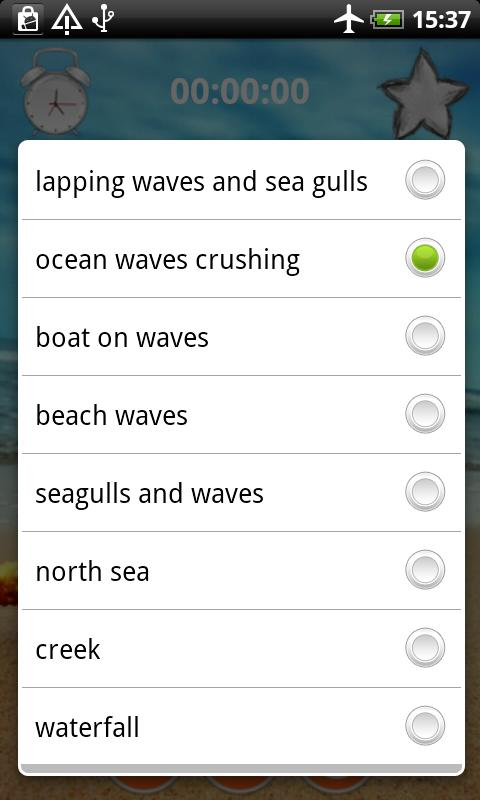 Ocean Sounds Relax n Sleep - screenshot