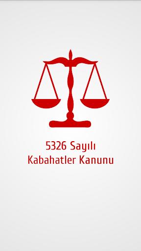 5326 Sayılı Kabahatler Kanunu