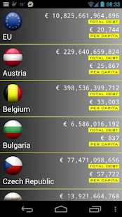 EU Debt Clock - screenshot thumbnail