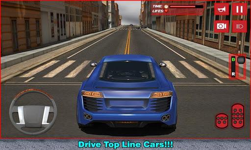 豪华跑车司机3D