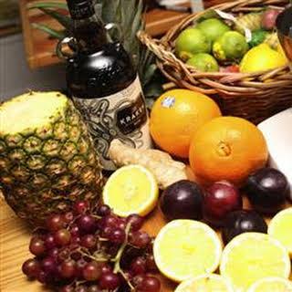 Ponche de Frutas (Fruit Punch).