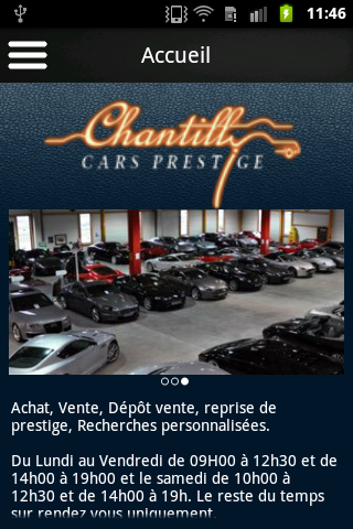 Chantilly Cars Prestige