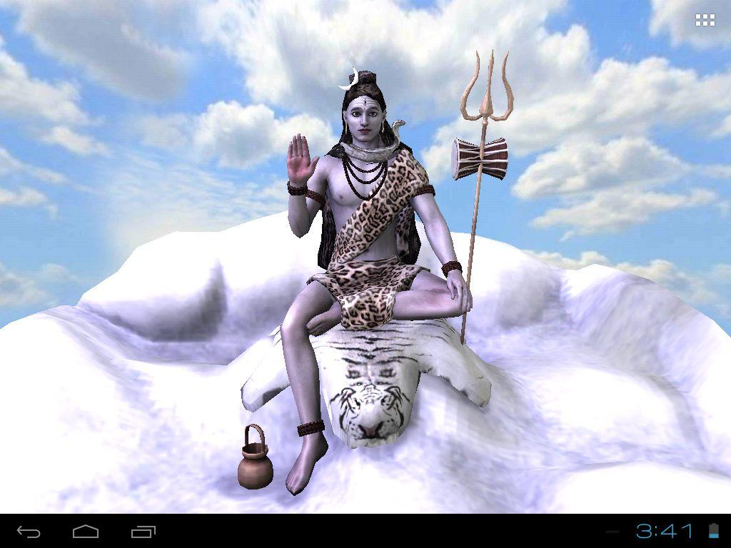 Lord Shiva Wallpapers 3d: 3D Mahadev Shiva Live Wallpaper
