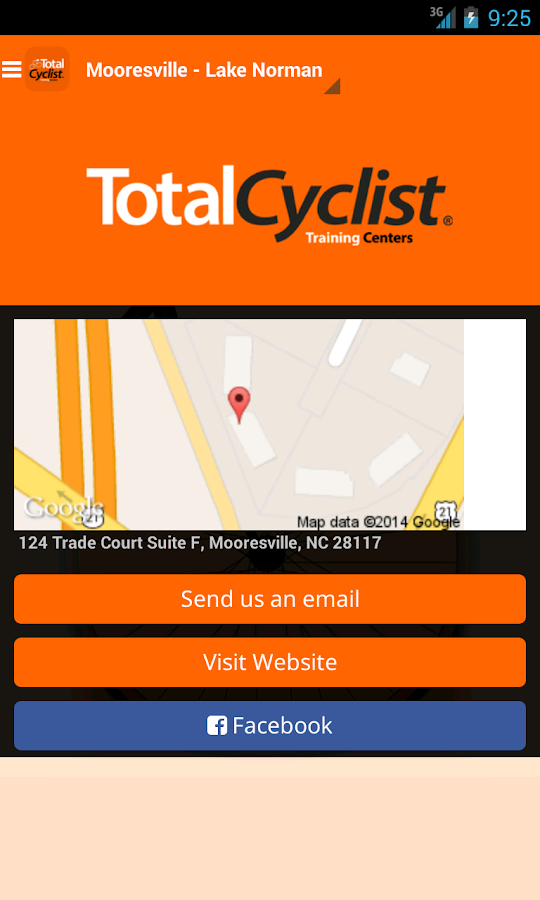 TotalCyclist- screenshot