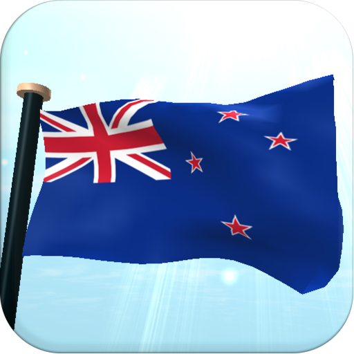 New Zealand Flag 3D Free