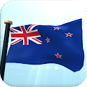 New Zealand Flag 3D Free icon