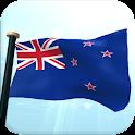 ニュージーランドフラグ3D無料ライブ壁紙 icon