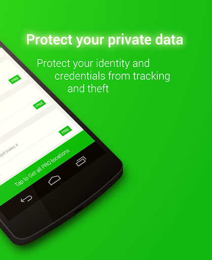 Screenshots #4. VPN / Android