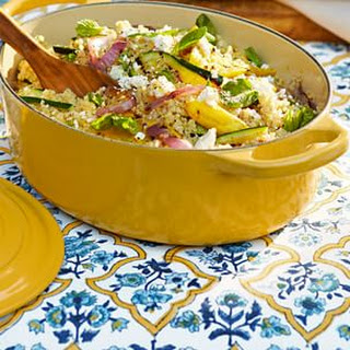 Quinoa Salad with Grilled Vegetables and Feta