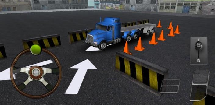 Caminhão Estacionamento 3D