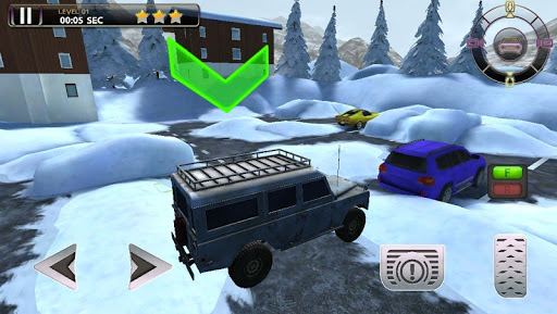 Snowmobile Racing Simulator Parking Games 2017  screenshots 5