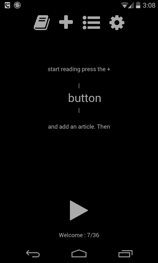 Speedy - Speed Reading- screenshot