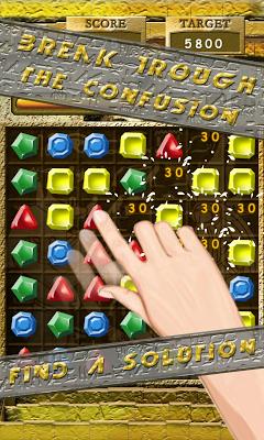 Egypt Jewels Line - screenshot