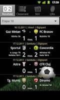 Screenshot of Liga I România
