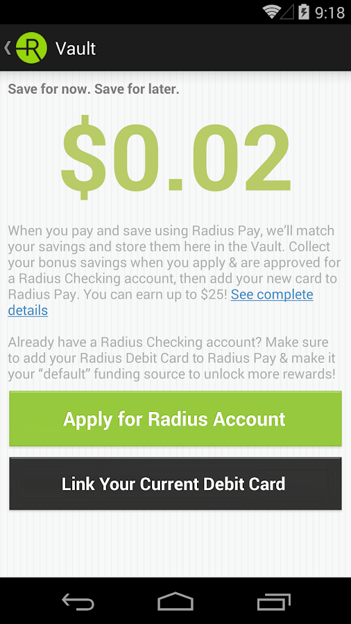 Radius Pay- screenshot