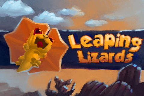 Leaping Lizard in Action apk screenshot