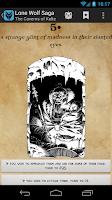 Screenshot of Lone Wolf Saga