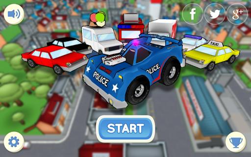 警車司機 停車場