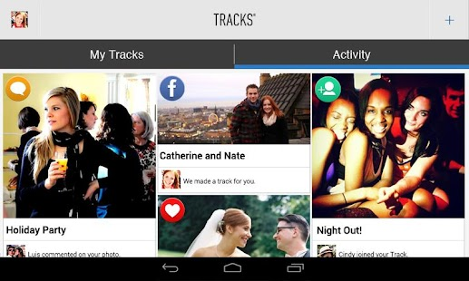 Tracks - Group Photo Sharing - screenshot thumbnail