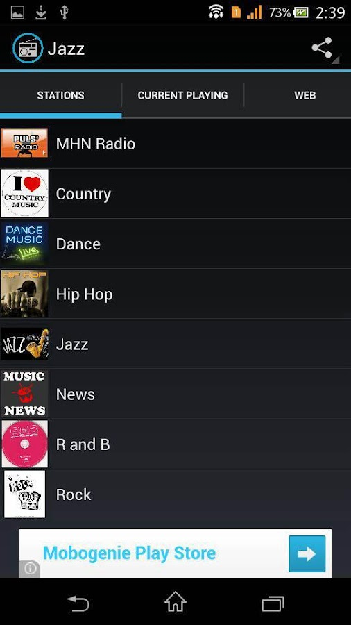 MHN Radio - screenshot