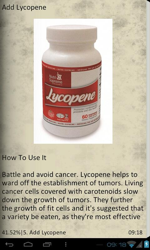 10 Ways Fight Off Cancer - screenshot