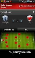 Screenshot of STATS MatchCentre