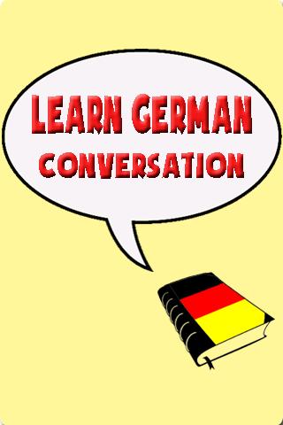 Learn German conversation