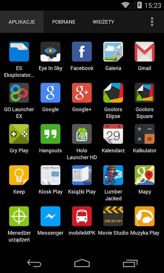 Goolors Elipse - icon pack - screenshot