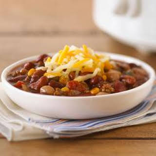 Slow-Cooker Hearty Beef Chili.