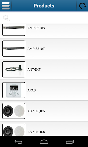 Crestron Mobile Catalog