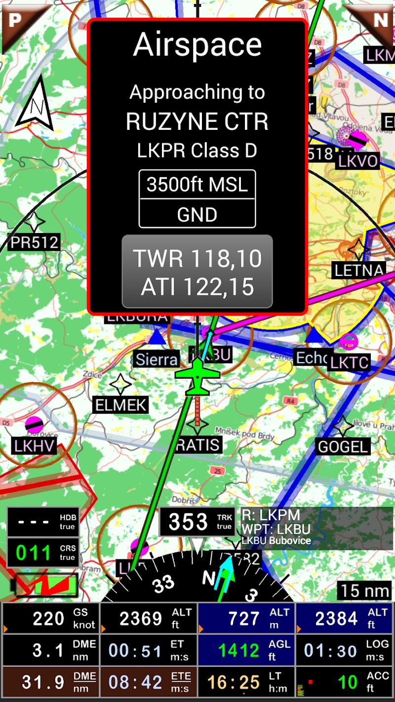 FLY is FUN Aviation Navigation Screenshot 2