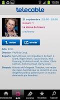Screenshot of Guía telecable TV