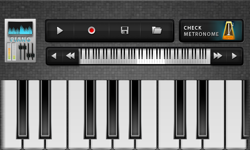 VIRTUAL KEYBOARD - PIANO