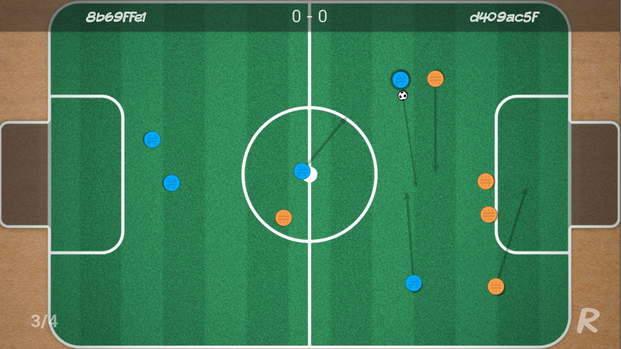 YourTurn Soccer- screenshot