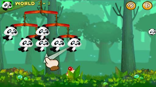 Panda Stone Fight