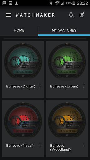 Bullseye WatchMaker Theme