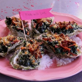 Rockefeller Oysters with Bacon