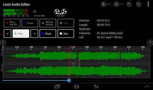Lexis Audio Editor 1.0.70 screenshots 8