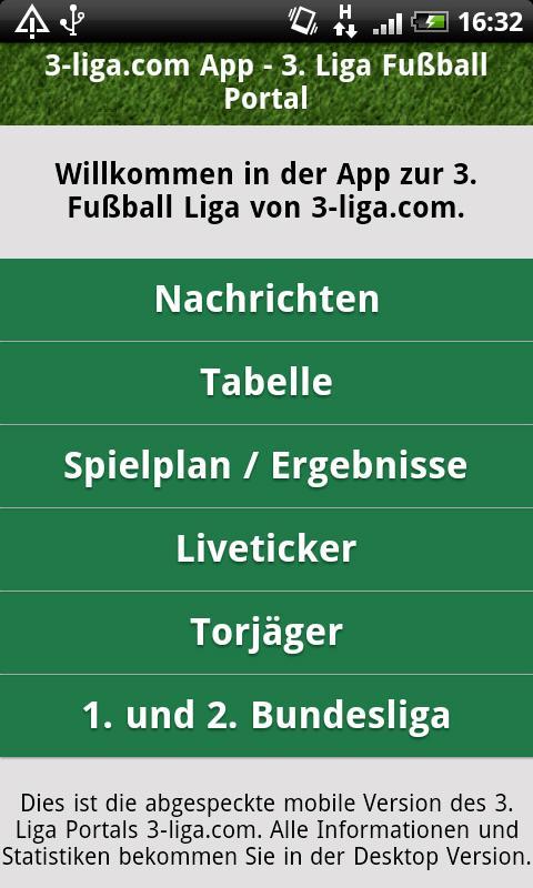 3 liga tabelle fußball