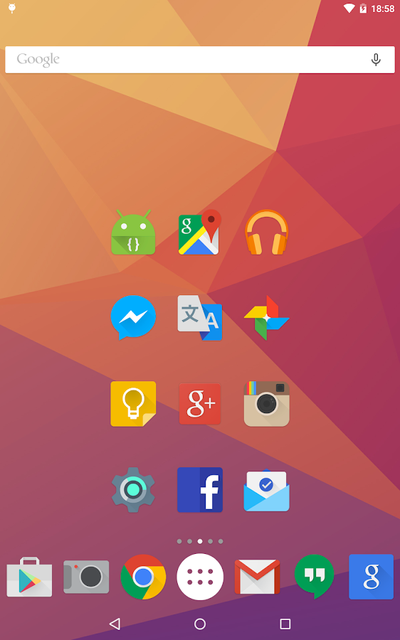 Iride UI - Icon Pack - screenshot