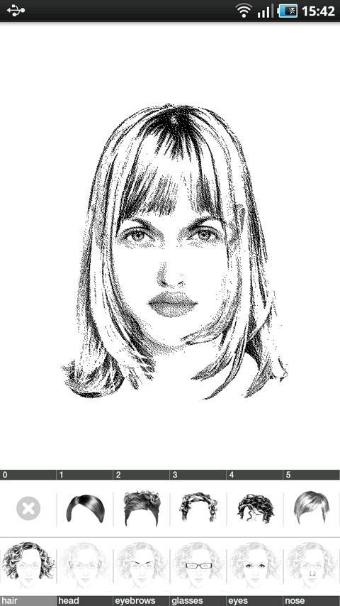 FlashFace Woman police tool- screenshot