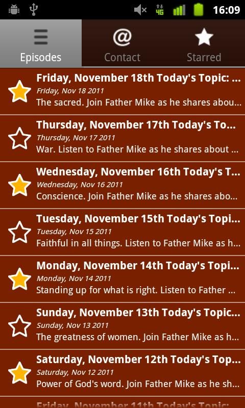 iGod Today – Fr. Mike Manning- screenshot