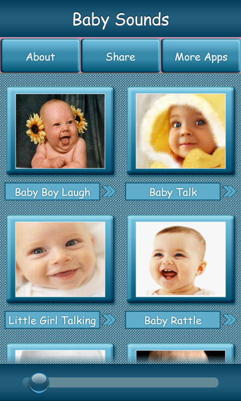 Baby Sounds - screenshot