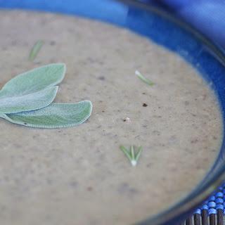 Creamy Mushroom Chestnut Soup