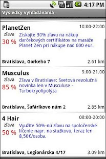 MOBIKA - ZlavoMapa - screenshot thumbnail