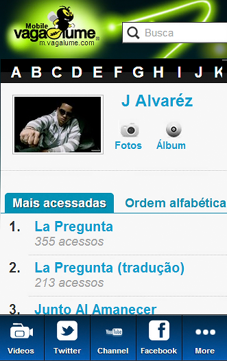 J Alvarez Blue Fan - screenshot