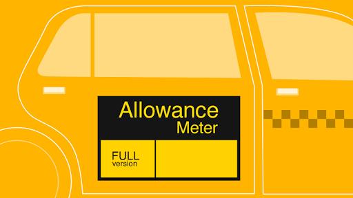 Allowance Meter