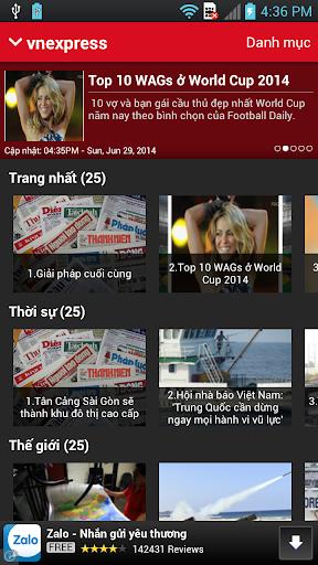 Vnexpress Dan Tri Thanh Nien
