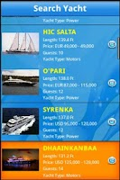 Screenshot of Yacht Charters